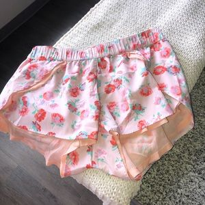 Adorable aerie pajama shorts